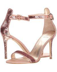Guess - Multicolor Kahluan Heeled Sandal - Lyst