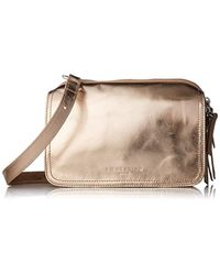 Liebeskind Berlin Natural Maikef8 Leather Crossbody