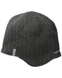 Carhartt - Gray Fire Steel Earflap Hat for Men - Lyst