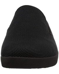 Fitflop - Black Superskate Uberknit Loafers - Lyst