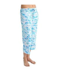 Anne Klein - Blue Cropped-length Pant - Lyst