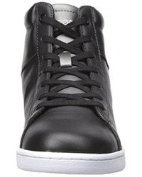 Lacoste - Carnaby Evo Wedge 317 3 Fashion Sneaker, Black, 6.5 M Us for Men - Lyst