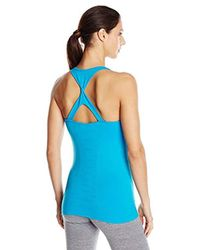 Danskin - Blue Seamless Built In Bra Tank - Lyst