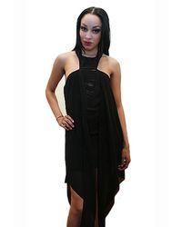 Sheri Bodell - Black Cage Mini Dress - Lyst