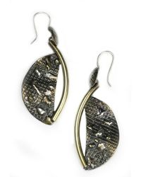 Sibilla G Jewelry - Metallic Sibilla G Atlantis Crescent Moon Fashion Earrings - Lyst