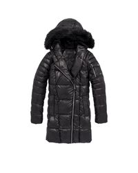 Marc New York | Blue Erin Sweater Down Jacket | Lyst