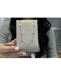 Anne Sisteron - Multicolor 14kt Rose Gold Diamond Morocco Necklace - Lyst