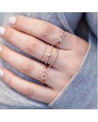 Anne Sisteron - Multicolor 14kt White Gold Diamond Arrow Ring - Lyst