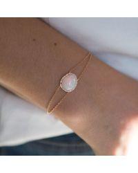 Anne Sisteron - Multicolor 14kt Rose Gold Opal Diamond Bracelet - Lyst