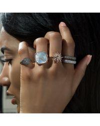 Anne Sisteron - Multicolor 14kt Rose Gold Diamond Sunburst Ring - Lyst