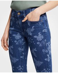 Ann Taylor - White Modern Island Floral All Day Skinny Crop Jeans - Lyst