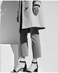 Ann Taylor - Blue Tall Kick Crop Jeans - Lyst