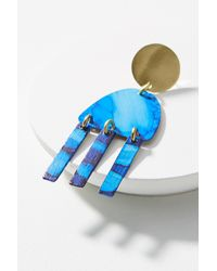 Sibilia - Blue Movement Fringe Earrings - Lyst