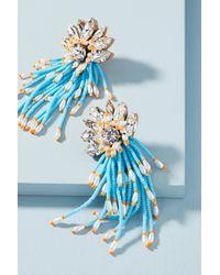 Shourouk - Blue Ocean Cascade Drop Earrings - Lyst