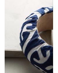 Mola Sasa | Blue Abstract Mazework Bracelet | Lyst