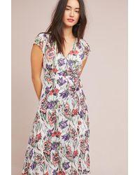 5254f5607a217 Maeve Flora Wrap Dress - Lyst