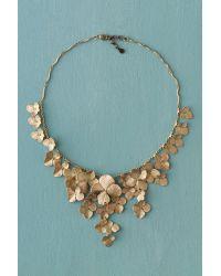 Michael Michaud - Blue Hydrangea Petal Necklace - Lyst