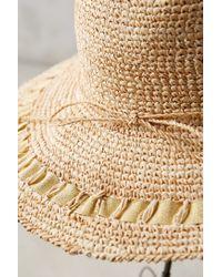 Anthropologie - Brown Gracia Sun Hat - Lyst