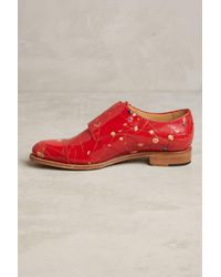 The Office Of Angela Scott | Red Mr. Colin Flower Oxfords for Men | Lyst