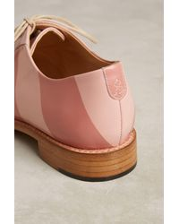 The Office Of Angela Scott | Pink Mr. Smith Oxfords for Men | Lyst