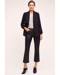 AG Jeans | Black Jodi Mid-rise Crop Jeans | Lyst