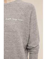 Good Hyouman - Gray Best Day Ever Pullover - Lyst