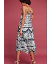 Akemi + Kin - Gray Riviera Tasseled Dress - Lyst