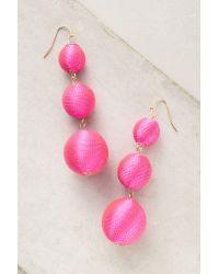 BaubleBar   Pink Crispin Drop Earrings   Lyst