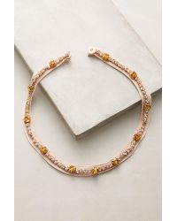 Mignonne Gavigan | Pink Meredith Collar Necklace | Lyst