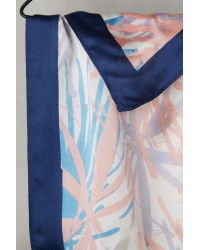Anthropologie | Blue Reed Silk Bandana Scarf | Lyst