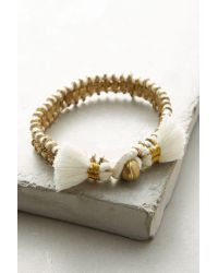 Bluma Project   Metallic Cala Wrap Bracelet   Lyst