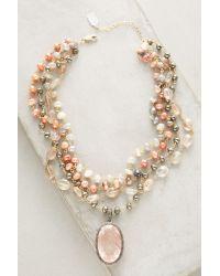 Ela Rae | Pink Sienna Layered Choker Necklace | Lyst