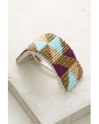Anthropologie | Multicolor Verity Beaded Barrette | Lyst