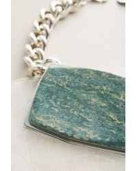 Pono | Metallic Pietra Choker Necklace | Lyst