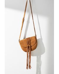 Shiraleah | Multicolor Mila Fringed Saddle Bag | Lyst