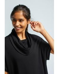 Beyond Yoga | Black Rider Cowl Neck Pullover | Lyst