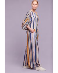 Blank | Multicolor Marzia Striped Wide-leg Trousers | Lyst