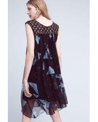 Moulinette Soeurs - Lydia Beaded Swing Dress, Black - Lyst