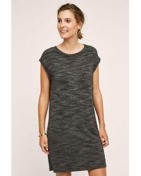 de46f68da40 Cloth & Stone Melange T-shirt Dress in Black - Lyst