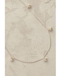 Anna + Nina - Metallic Dina Necklace - Lyst