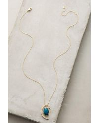 Anthropologie | Metallic Night Sky Pendant Necklace | Lyst