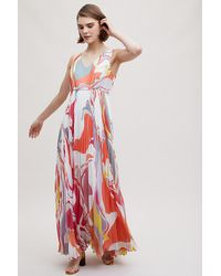 570ad2e3642d Anthropologie. Women's Geisha Jordan Printed Maxi Dress