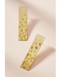 Sibilia - Metallic Celeste Bar Earrings - Lyst