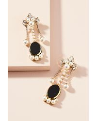 Anton Heunis - Black Baroque Drop Earrings - Lyst