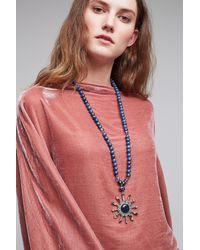 Anthropologie - Blue Starburst Necklace - Lyst