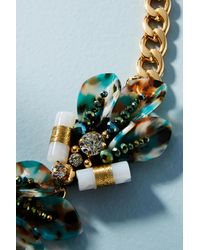 Nocturne - Metallic Lihua Collar Necklace - Lyst