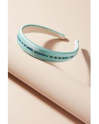 Alexandre De Paris - Blue Bright Crystal Headband - Lyst