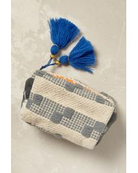 Anthropologie | Gray Byron Woven Cosmetic Pouch | Lyst