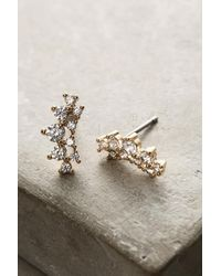 Anthropologie - Metallic Amerie Crawler Earrings - Lyst