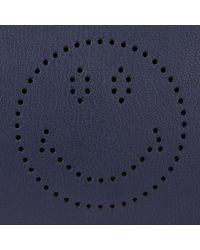 Anya Hindmarch - Blue Smiley Ebury Satchel - Lyst